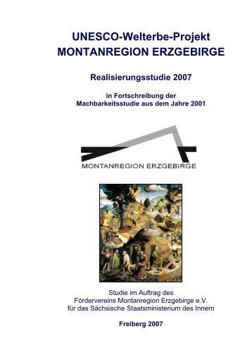 UNESCO-Welterbe-Projekt MONTANREGION ERZGEBIRGE