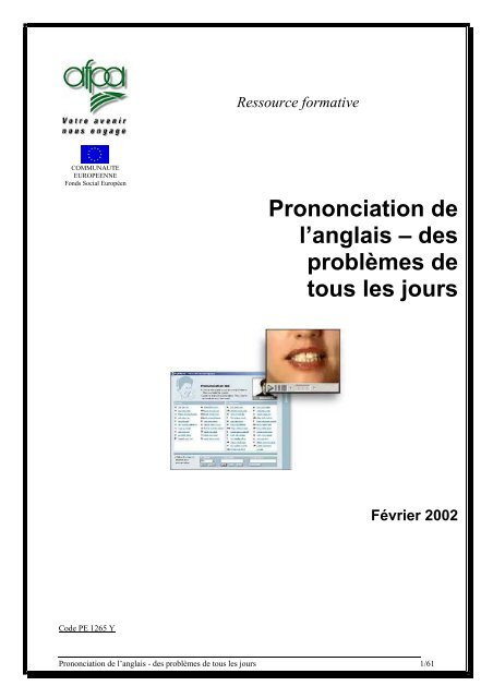 Prononciation De Langlais Tertiaireafpafr