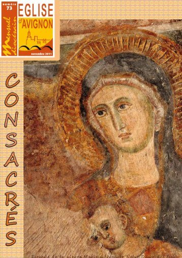 numéro novembre 2011 - Diocèse d'Avignon
