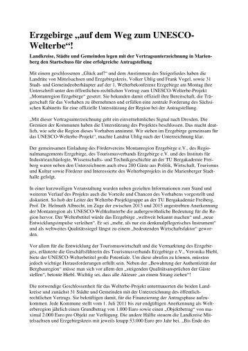 Pressemitteilung Endfassung - Wirtschaftsförderung Erzgebirge GmbH
