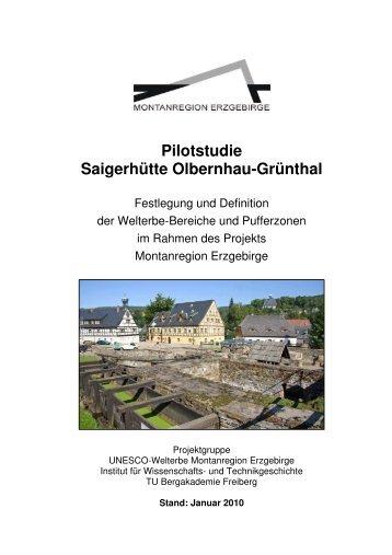 Pilotstudie Saigerhütte Olbernhau-Grünthal - Wirtschaftsförderung ...