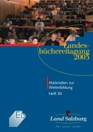 Materialien zur Weiterbildung in Salzburg