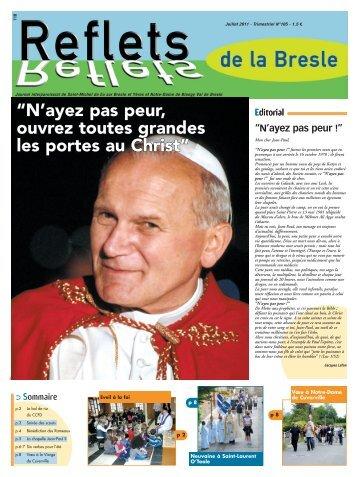 n°105 juil 2011 - Bienvenue sur le site de la paroisse Saint-Michel ...