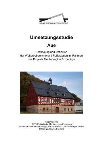 Umsetzungsstudie Aue - Wirtschaftsförderung Erzgebirge GmbH