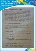 Le sujet - Collège OASIS - Page 7