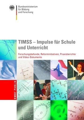 TIMSS (BMBF Publikation 2001) - Bildungsklick