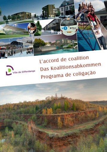 L'accord de coalition Das Koalitionsabkommen ... - Differdange