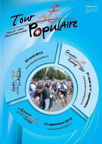 Flyer Tour de Romandie populaire.pdf - Le Gruyère Cycling Tour