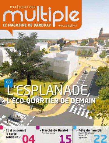 Magazine Multiple n°14 - juillet 2012 - Mairie de Dardilly