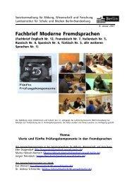 Fachbrief Moderne Fremdsprachen - Bildungsserver Berlin ...