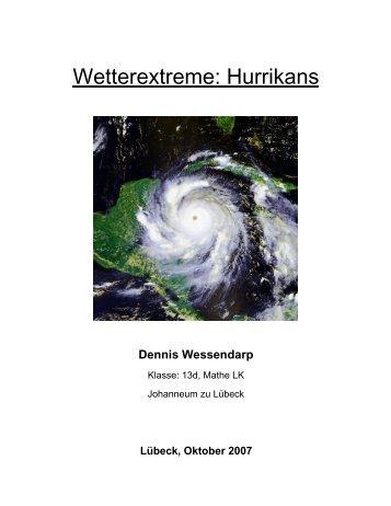 Wetterextreme: Hurrikans - Hamburger Bildungsserver