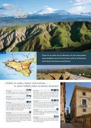 Sizilien ist anders, bunter und extremer – in seiner Vielfalt selbst ein ...