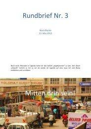 Rundbrief Nr. 3 Mitten drin sein! - Bildungsserver Berlin - Brandenburg