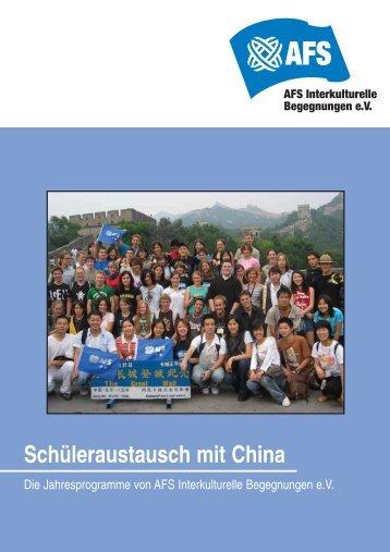 austausch mit China - Hamburger Bildungsserver