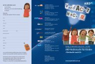 Flyer zur ARD-Radionacht für Kinder (PDF) - Bildungsklick