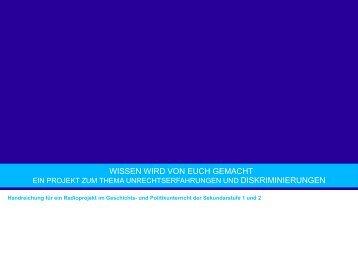 Lehrerhandreichung - Bildungsserver Berlin - Brandenburg