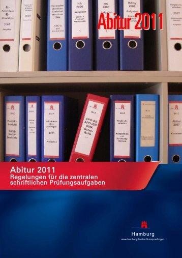 Abitur 2011 - Hamburger Bildungsserver