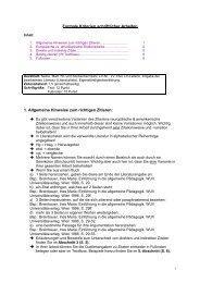 Formale Kriterien schriftlicher Arbeiten 1. Allgemeine Hinweise zum ...