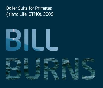 Boiler Suits for Primates (Island Life: GTMO), 2009 - Bill Burns