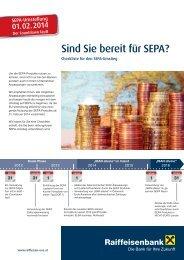Checkliste für den Sepa-Umstieg (pdf) - Raiffeisen