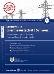 Energiewirtschaft Schweiz