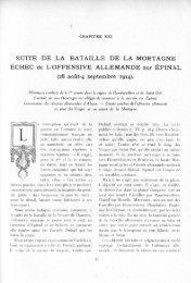 SUITE DE LA BATAILLE DE LA MORTAGNE