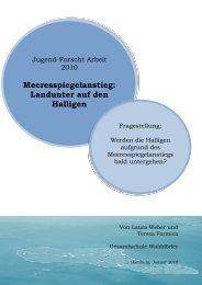 Meeresspiegelanstieg - Hamburger Bildungsserver