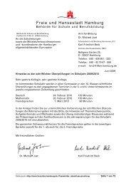 Schriftliche Überprüfung 2010 an Gymnasien - Hamburger ...