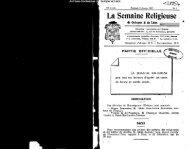 La Semaine Religieuse - Diocèse de Quimper et du Léon