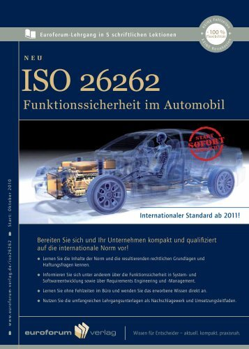 Funktionssicherheit im Automobil