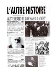 A.H.Mitterrand & Darnand à Vichy