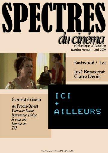 Télécharger la version PDF - Spectres du cinéma