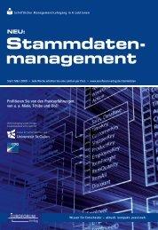 Stammdaten- management