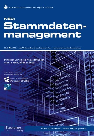 Stammdaten- management