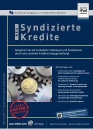 Syndizierte Kredite - IIR Deutschland GmbH