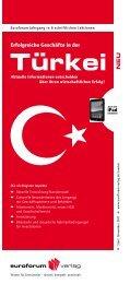 Türkei: sei einer der w standorte