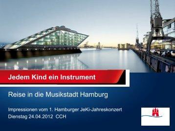 Bildergalerie vom 1. Hamburger JeKi-Jahreskonzert 24.04.2012
