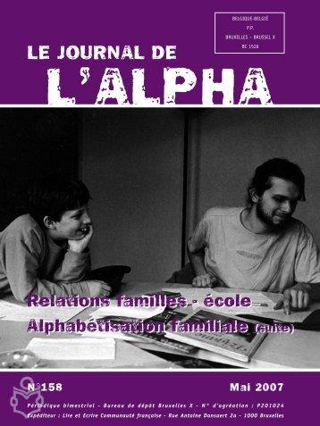 n o 158 - Publications Alpha