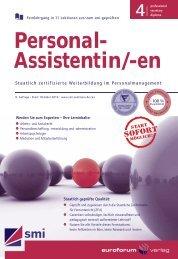 Personal- Assistentin/-en