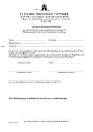 Ausbildungsbescheinigung - Hamburger Bildungsserver