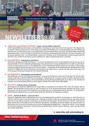 Newsletter Billstedt-Horn, September 2009 - Entwicklungsraum ...