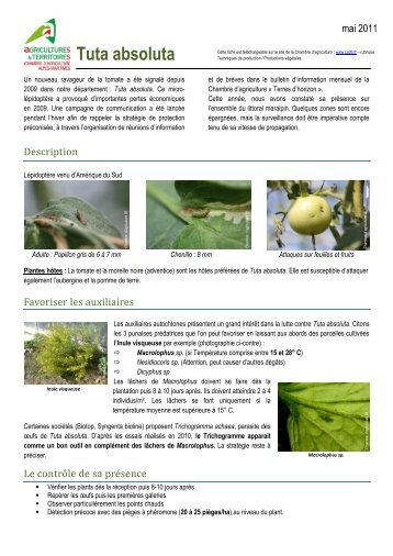 6 free magazines from ca06 fr for Chambre agriculture 06