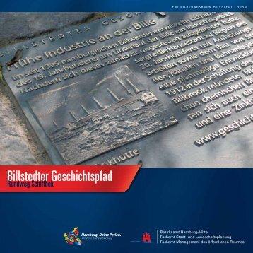 "Broschüre ""Billstedter Geschichtspfad - Rundweg Schiffbek"""