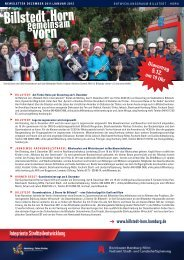 Newsletter Billstedt-Horn, Dezember 2011/Januar 2012