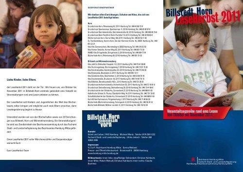 Flyer Leseherbst 2011 als PDF-Datei - Entwicklungsraum Billstedt ...