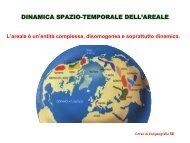 dinamica spazio-temporale dell'areale - Unità di Analisi e Gestione ...