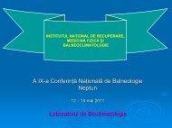 Determinări microclimatice, bioclimatice şi de ionizarea aerului în ...