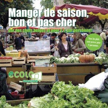 Manger de saison, bon et pas cher Manger de saison, bon et ... - Ecolo