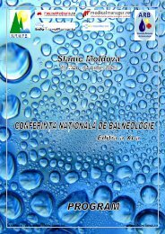 secretar@bioclima.ro www.bioclima.ro - Asociatia Romana de ...