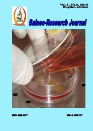 Balneo-Research Journal Vol.3, Nr.2, 2012
